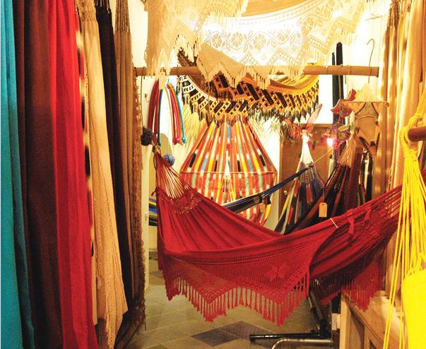 Mundo de Hamacas Interior de la tienda